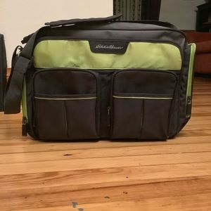 Eddie Bauer Diaper Bag 💚